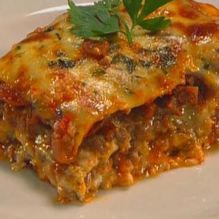 Summer Aubergine Lasagne