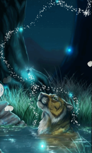 Magic Tiger Live Wallpaper
