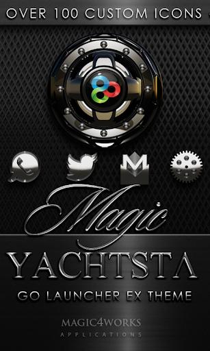 GO Launcher Theme Yachtsta