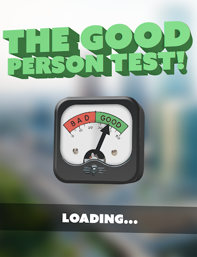 Good Person Test