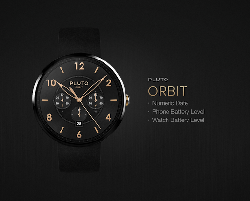 Orbit watchface by Pluto