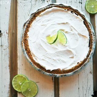 The Absolute Best (and Healthiest) Key Lime Pie.