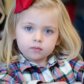 Blue by Nancy Arehart - Babies & Children Children Candids ( girls, blond, blue eyes, children, candid )