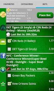 Pocket Sportsbook - Bookie App - screenshot thumbnail