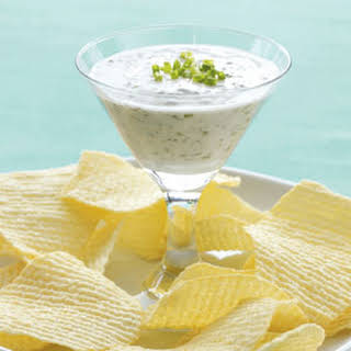 Garlic and Herb Yogurt Dip.
