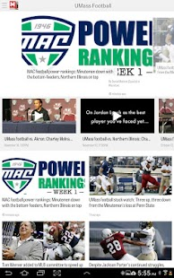 MassLive.com: UMass Football- screenshot thumbnail