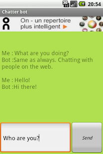 Chatter Bot- screenshot thumbnail