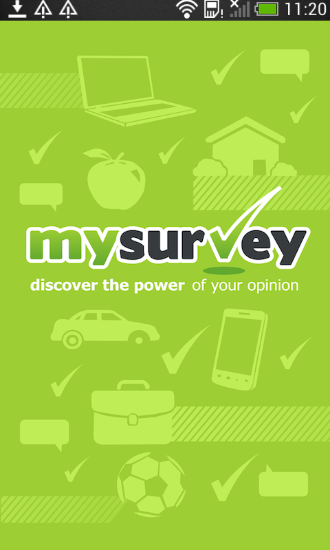 MySurvey- screenshot