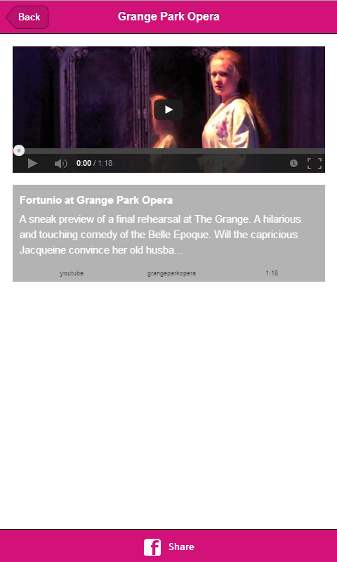 Grange Park Opera - screenshot