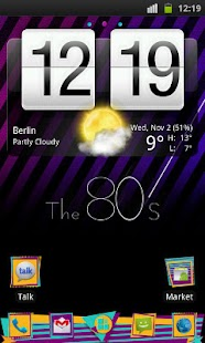 80's Theme 4 Go Launcher Ex- screenshot thumbnail