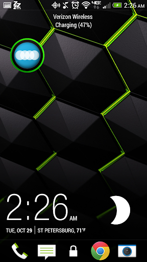 Modern Circle Green - FN Theme