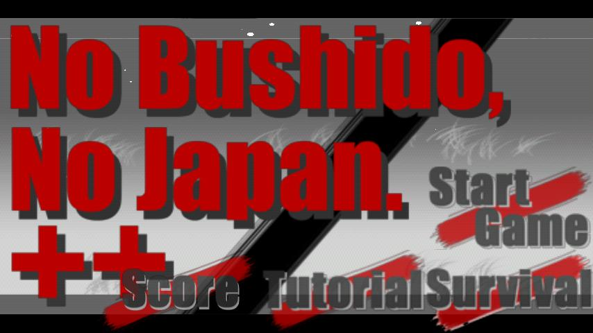 No Bushido, No Japan++- screenshot