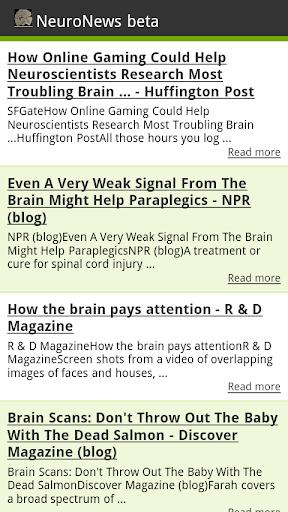 NeuroNews beta