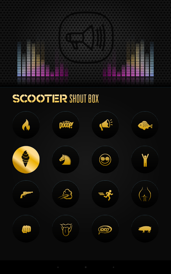 Scooter Shoutbox- screenshot