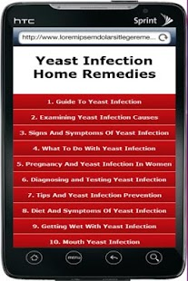 Yeast Infection Home Remedy- screenshot thumbnail