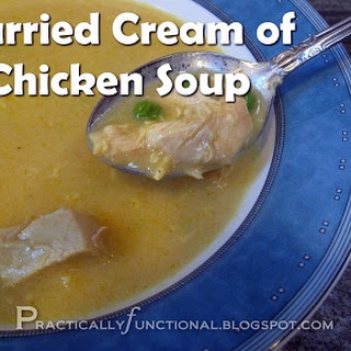 Curried Cream of Chicken Soup.