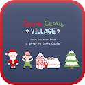 SantaClaus village Go Launcher icon