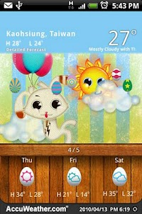 9s-Weather Theme+ (Easter) screenshot 2