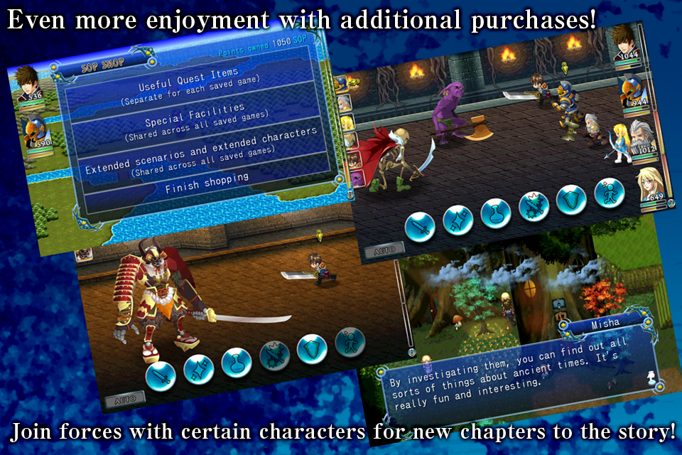 RPG Symphony of the Origin - screenshot