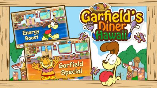 無料街机Appのガーフィールドのダイナー:ハワイ編|記事Game