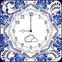 Flower clock wallpaper PRO