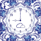 Flower clock wallpaper PRO