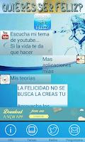 Screenshot of Quiere ser Feliz? No Descargue