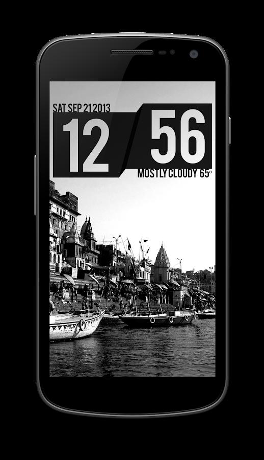 Shift Clock - UCCW Skin - screenshot