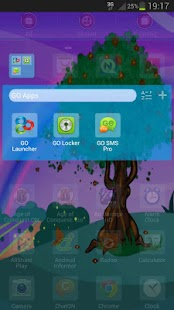 GO Launcher EX Theme Spring - screenshot thumbnail
