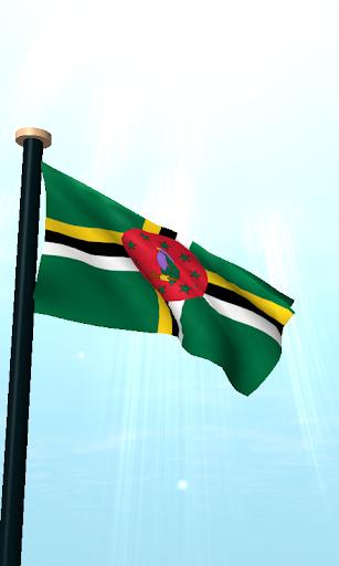多米尼加旗3D免费动态壁纸|玩個人化App免費|玩APPs