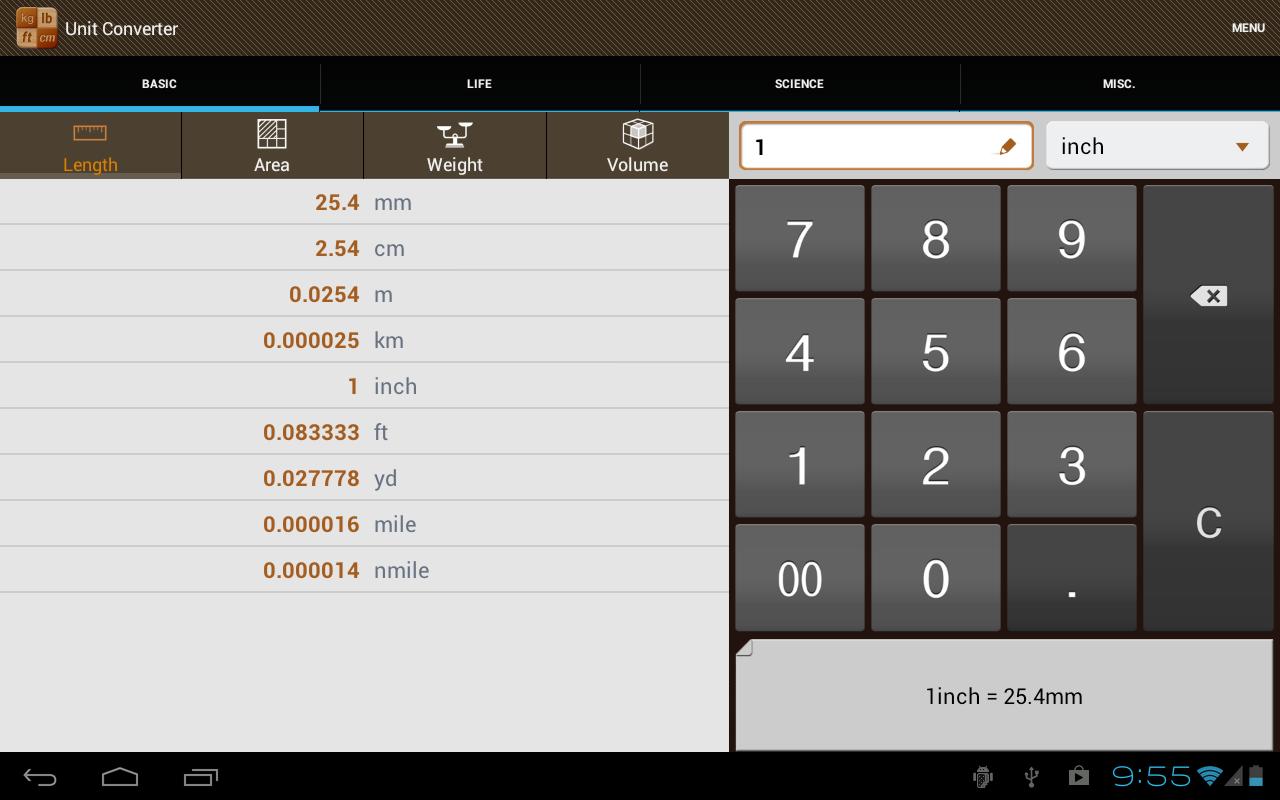 Unit Converter Pro - screenshot