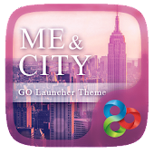 Me And City GO Launcher Theme