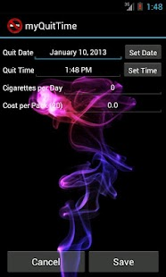 myQuitTime - Stop Smoking- screenshot thumbnail