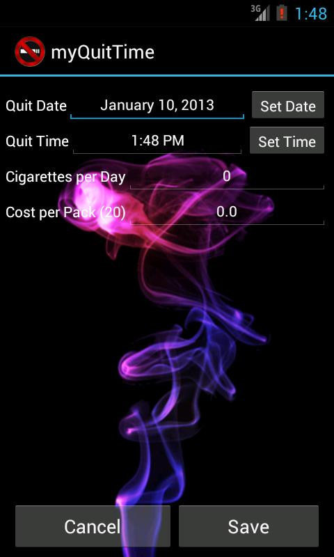 myQuitTime - Stop Smoking- screenshot