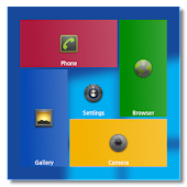 Windows 8 theme for SquareHome