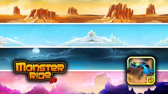 Monster Ride HD - Free Games - screenshot thumbnail