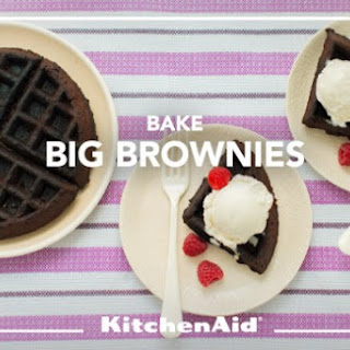 Double Chocolate Brownie Waffles