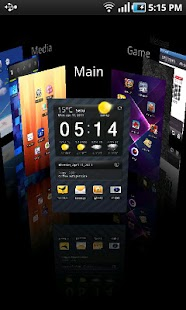 Regina 3D Launcher - screenshot thumbnail