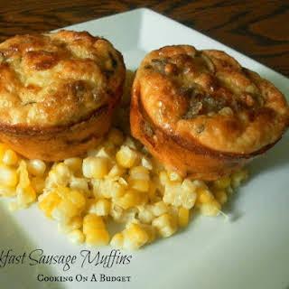 Breakfast Sausage Muffins.
