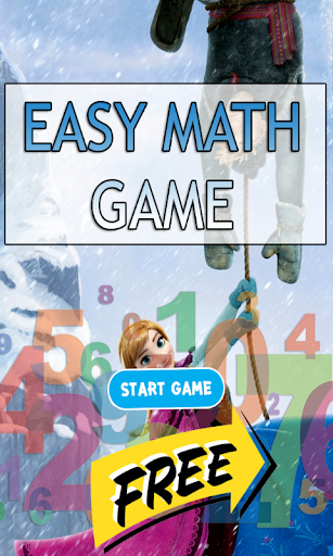 Princesses Fun Easy Math Game