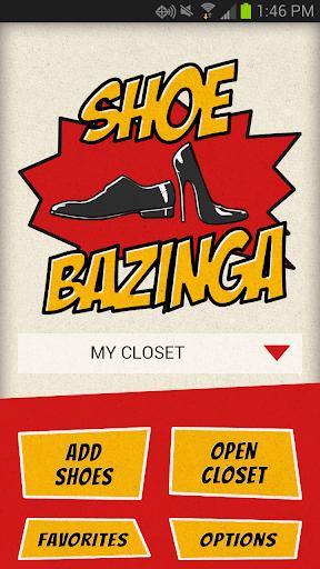 Shoe Bazinga