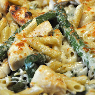 Chicken & Asparagus Penne Recipe