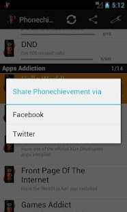 Phonechievements - screenshot thumbnail