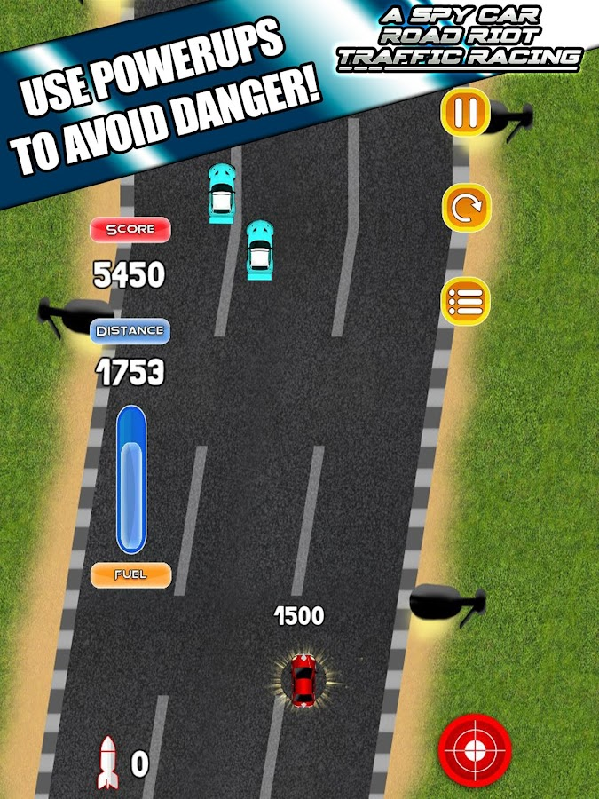 Spy Car Road Riot Traffic Race- screenshot