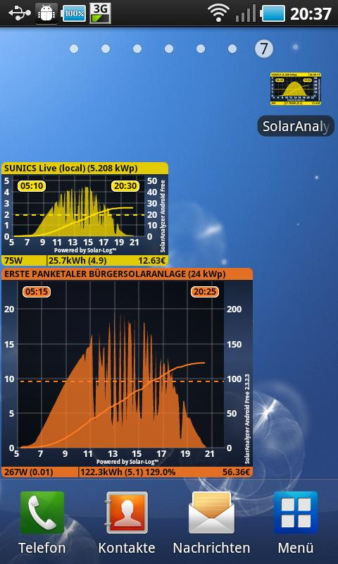 SolarAnalyzer Free f. Android™- screenshot