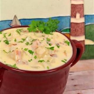 Potato Soup in Seven Minutes.