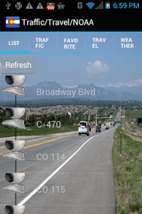 Colorado Traffic Cameras Pro screenshot 1