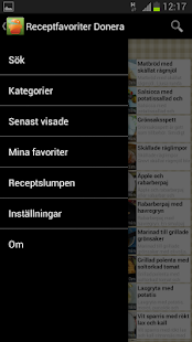 Receptfavoriter - screenshot thumbnail