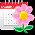 Agenda féminin(calendrier) icon