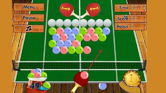 乒乓球 — — 球